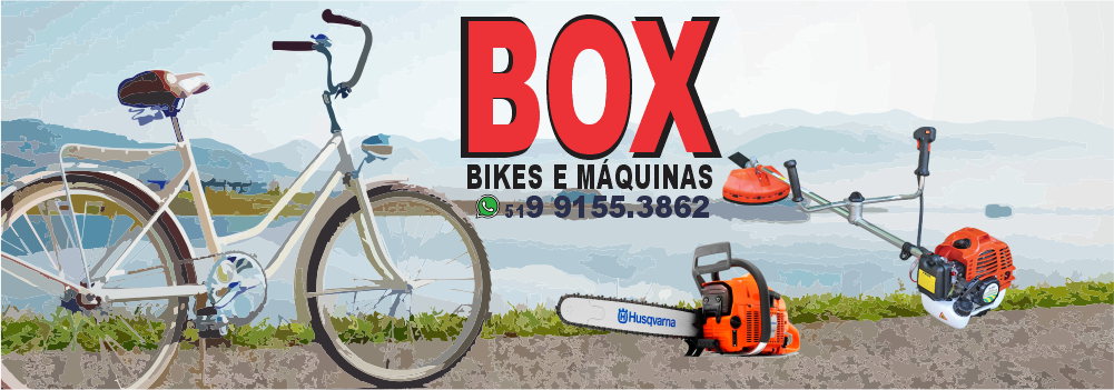 Box Bike e Máquinas